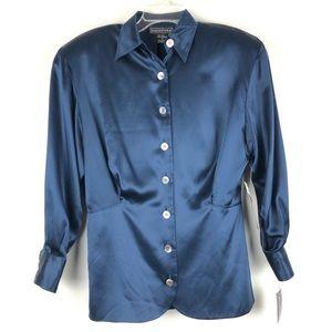 Baldanza Vintage Silk Blouse